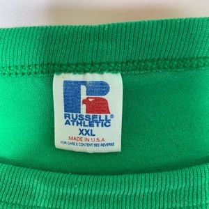 Russell Athletic Shirts - Vintage Russell Tee single stitch sleeve USA made